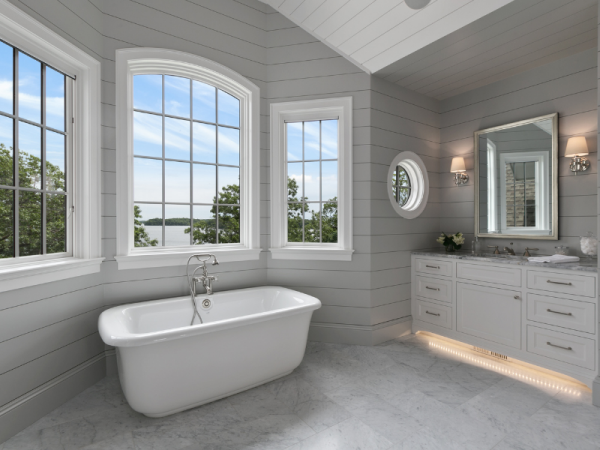 Freestanding Soaker Bathtub