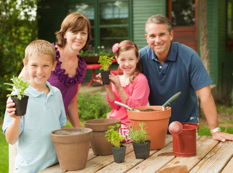Herb Garden Family Preparation