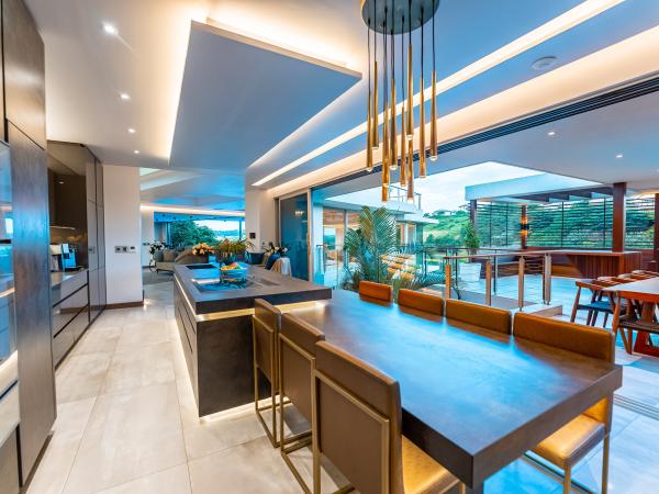 stylish, modern kitchen