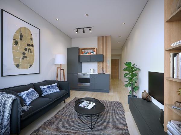 corporate micro-apartment