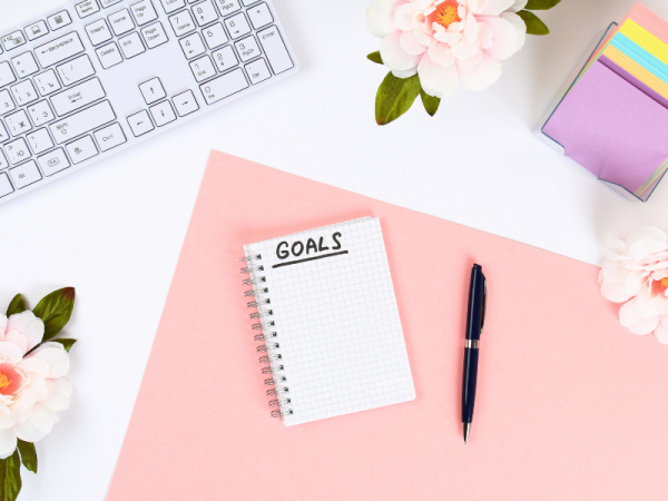 planning goals and writing them down